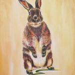 Psychedelic Bunny Carole Durrant Wilderness Art Festival