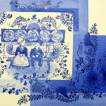 Fantaisie-Delft-Tea-for-Two-36x56-Watercolour-Framed-R5 000-Zanne-Small