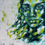 Lady-Willow-1000mmx1000mm-Acrylic-on-canvas Semona Diener