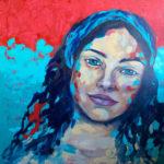 Ruby-dreamer-14000mmx1400mm-Acrylic-on-canvas Semona Diener