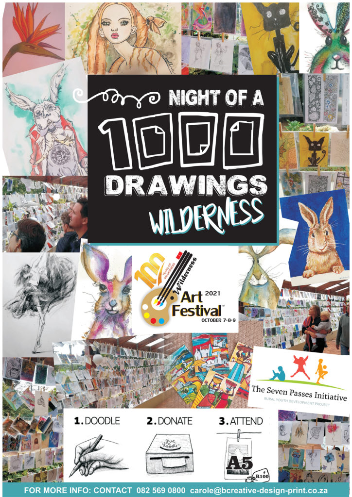 Wilderness Art Festival Events Night of 1000 Drawings